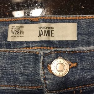 Topshop Highwaisted Jamie Jeans